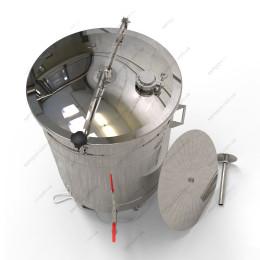 Пивоварня-дистиллятор 115 литров автоматическая с фальшдном