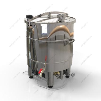 Пивоварня-дистиллятор 47 литров автоматическая с фальшдном