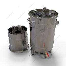 Пивоварня-дистиллятор 72 литра автоматическая с бункером