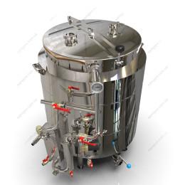 Пивоварня-дистилятор на 160 литров с системой фильтрации и охлаждения сусла