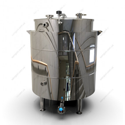 Пивоварня-дистилятор на 160 л косвенного нагрева на пропилегликоле