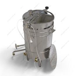 Пивоварня-дистиллятор 72 л косвенного нагрева на пропилегликоле с фальшдном