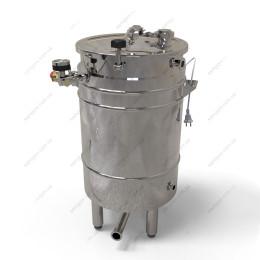 Пивоварня-дистиллятор 72 литра косвенного нагрева на воде с фальшдном