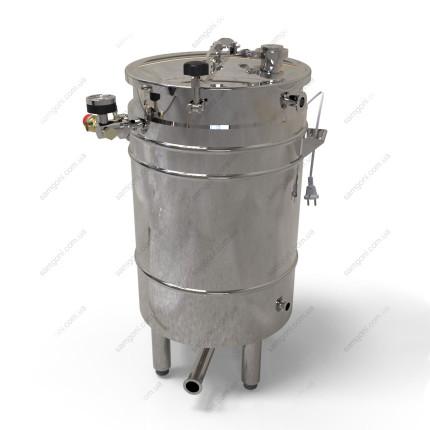 Пивоварня-дистиллятор 72 литра косвенного нагрева на воде с бункером