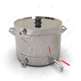 Пивоварня гибридная 37 литра с бункером