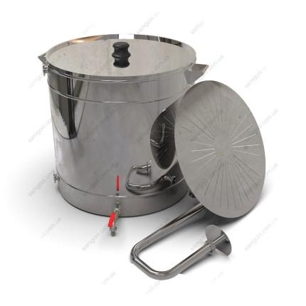 Пивоварня гибридная 98 литров с фальшдном