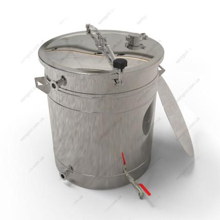 Пивоварня-дистиллятор гибридная 115 литров с фальшдном