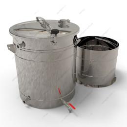 Пивоварня-дистиллятор гибридная 115 литров с бункером
