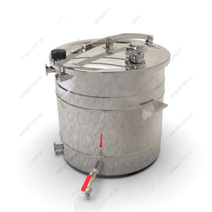 Пивоварня-дистиллятор гибридная 47 литров с фальшдном