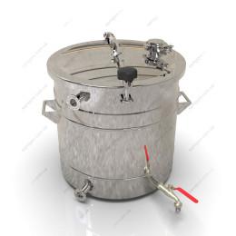 Пивоварня-дистиллятор гибридная 47 литров с бункером