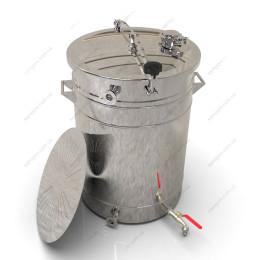 Пивоварня-дистиллятор гибридная 72 литра с фальшдном