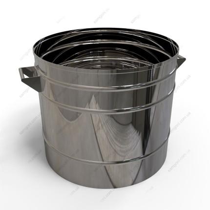 Кастрюля 37 литров из нержавейки