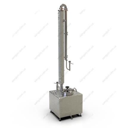 Непрерывная бражная колонна НБК мощностью 6 кВт на кубе 93 л