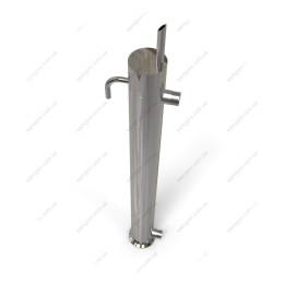 Кожухотрубный конденсатор 2 дюйма, длина на 500 мм с узлом отбора