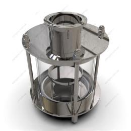 Диоптр для дистиллятора с тарелкой