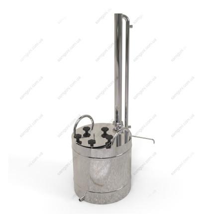 Дистиллятор с проточным конденсатором
