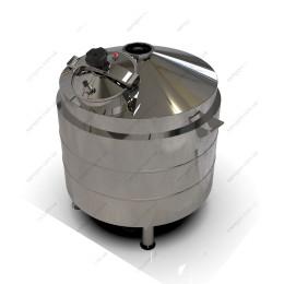 Котел косвенного нагрева 127 литров с конусным верхом