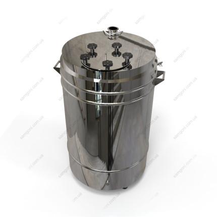 Котел косвенного нагрева 127 литров с фланцевой крышкой на пропиленгликоле