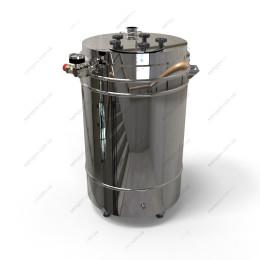 Котел косвенного нагрева 127 литров с фланцевой крышкой на воде