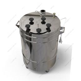 Котел косвенного нагрева 62 литра с фланцевой крышкой на пропиленгликоле