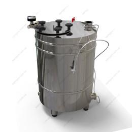 Котел косвенного нагрева 62 литра с фланцевой крышкой на воде