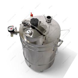 Котел косвенного нагрева 62 литра с крышкой от скороварки на воде
