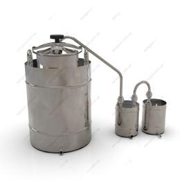 Самогонный аппарат классика 62 литра с крышкой от скороварки для проточной воды