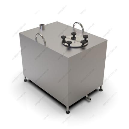 Перегонный куб из нержавейки 180 литров с фланцевой крышкой
