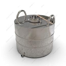 Перегонный куб 37 литров, крышка – кламп 4 дюйма