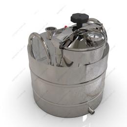 Перегонный куб 37 литров с крышкой от скороварки