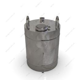 Перегонный куб 62 литра, крышка – кламп 4 дюйма