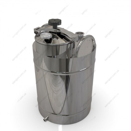 Перегонный куб из нержавейки 62 литра с крышкой от скороварки