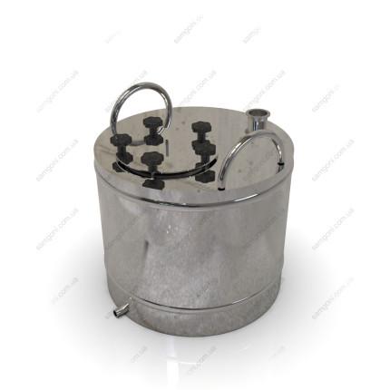 Перегонный куб из нержавейки 72 литра с фланцевой крышкой