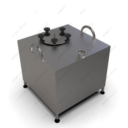 Перегонный куб из нержавейки 93 литра с фланцевой крышкой