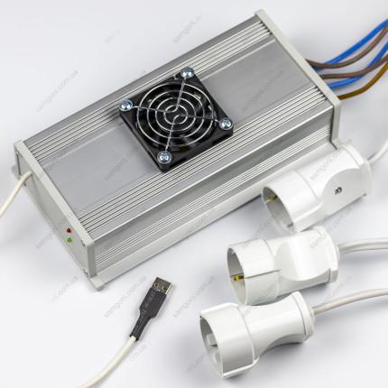 Расширитель автоматики Pandora-GFX Slim на 3 фазы 15 кВт