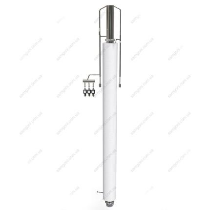 Ректификационная колонна 63 мм с датчиками и клапанами